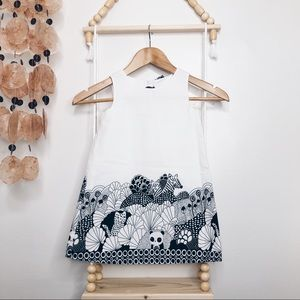 NWOT! GIRL GYMBOREE WHITE SAFARY PRINTED DRESS